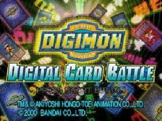 Screenshot Thumbnail / Media File 1 for Digimon - Digital Card Battle [U]
